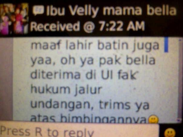 Testimonial Untuk Bimbel Akong Dari Ibu Velly