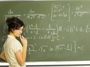 memilih guru les matematika