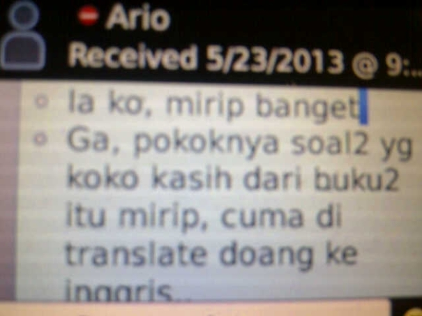 Testimonial Untuk Les International School Akong