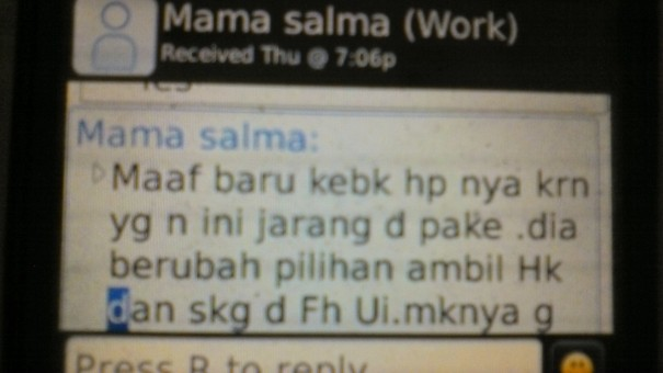Testimonial Dari Mama Salma Untuk Les Private Akong
