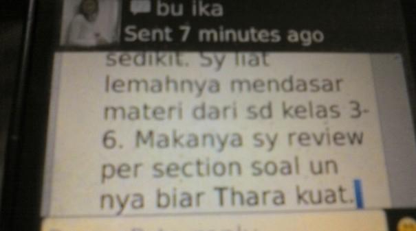 Testimonial Dari Ibunda Thara  Untuk Les Privat Akong