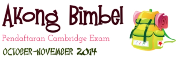 akong bimbel cambridge exam