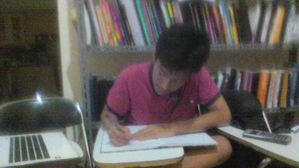 siswa sekolah bogor raya yang Les A Level untuk tes CIE A Level Oktober mendatang