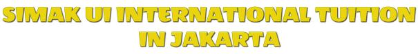 SIMAK UI INTERNATIONAL TUITION