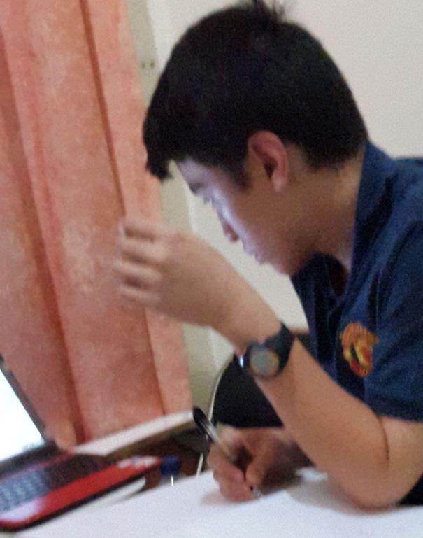 Cambridge tutoring in Jakarta (Les Cambridge di Jakarta, student from Santa Joseph School Singapore)