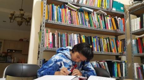 siswa sma Taruna Nusantara Magelang yang sedang persiapan tes masuk Nanyang NUS