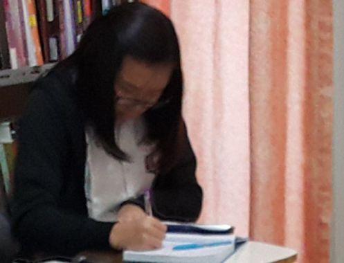 siswa yang sedang ib preparation